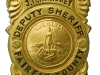 Circa late 1930s Deputy Sheriffs Badge issued to James