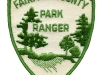 First of the Park Ranger patches