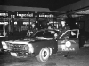 Patrol Cruiser and Officers at Kings Park Shopping Center c. 1966