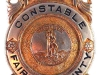1930s Constables Badge issued to B. Alton Poole