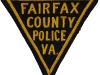 Early 1940s Fairfax County Triangle Police Patch - 2nd Variation of this series
