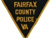 Late 1940s Fairfax County Police Triangle Patch